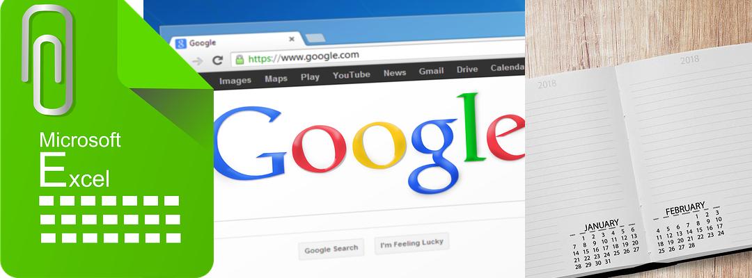 Excel & Google & Papier