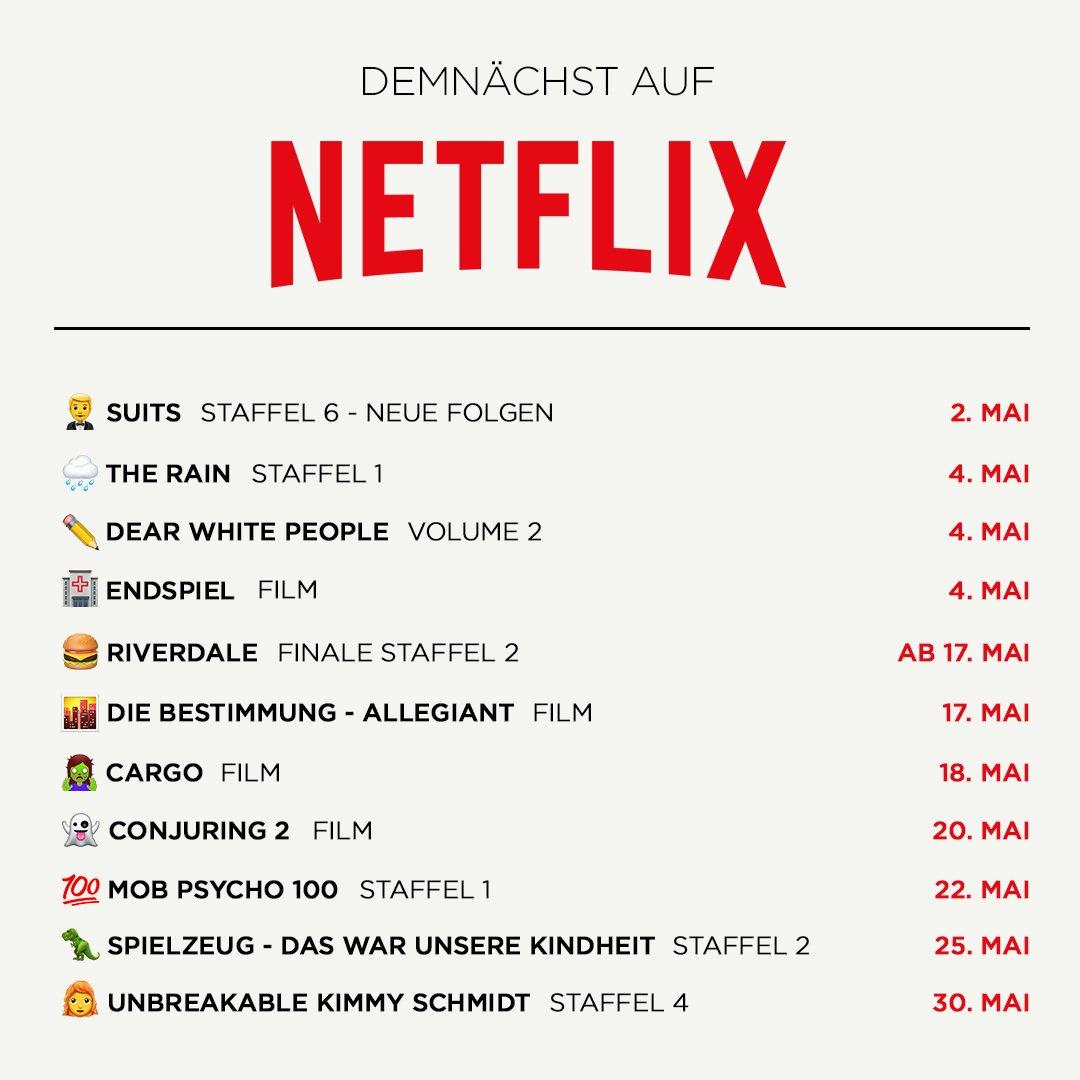 Netflix Mai Neuheiten