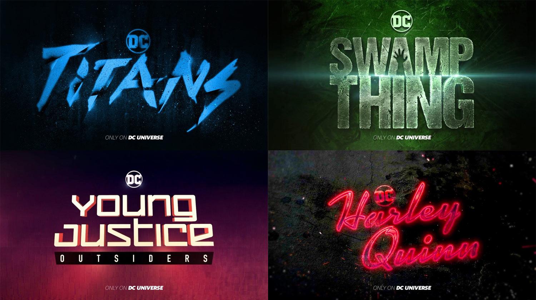 Poster DC Serien