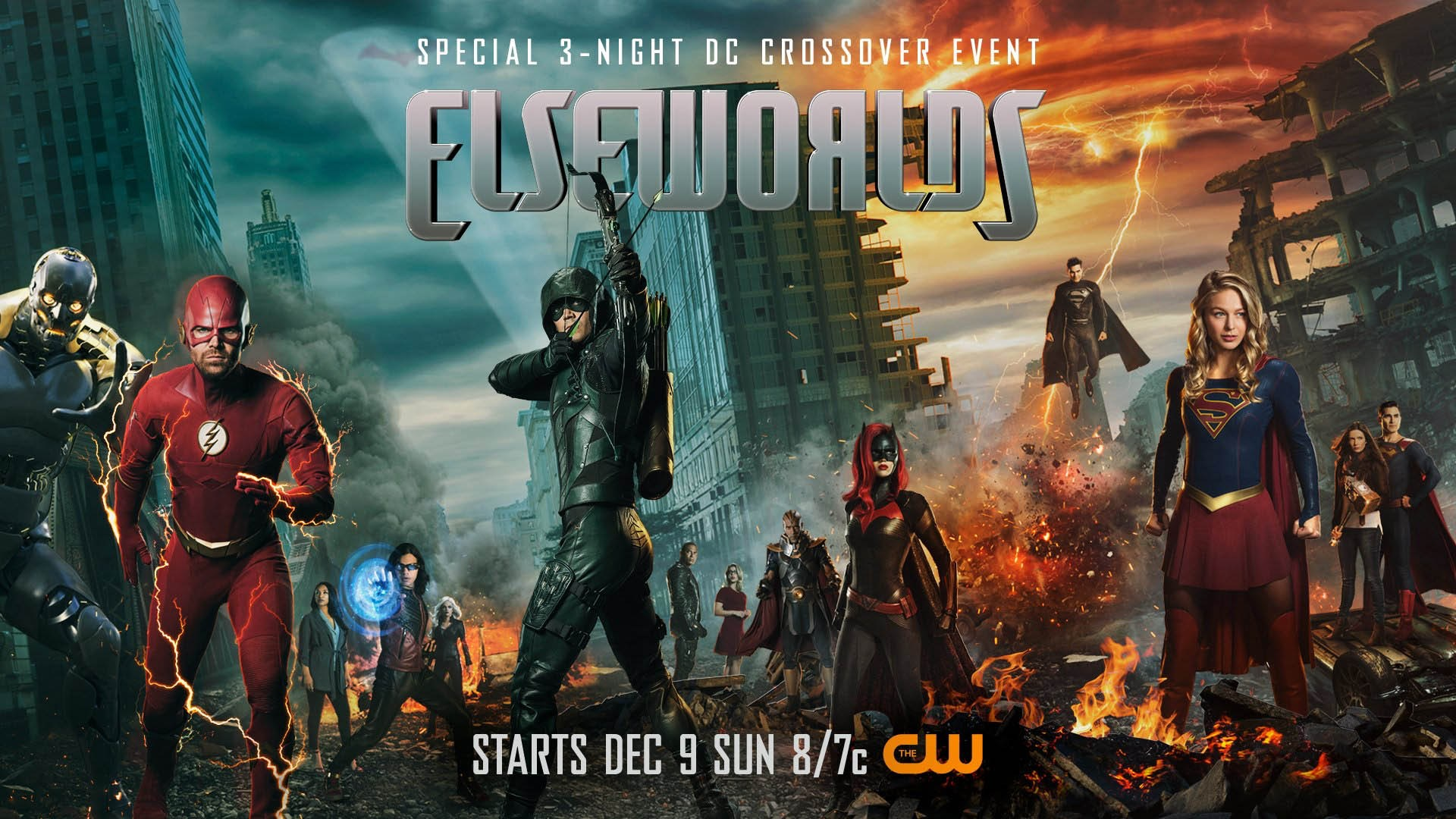 Elseworlds – das Arrowverse-Crossover 2018